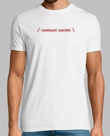Camiseta emotional suicidal hombre