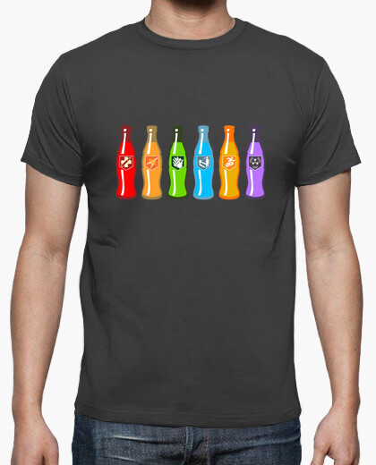 Camiseta Epic 6 pack bebidas zombis - Call of duty