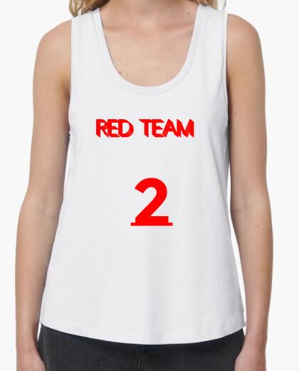 Camiseta Equipo rojo 2