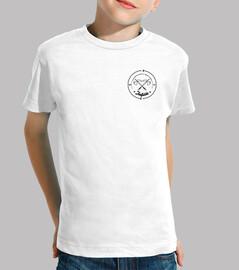 Camiseta Escudo Hacha Negro