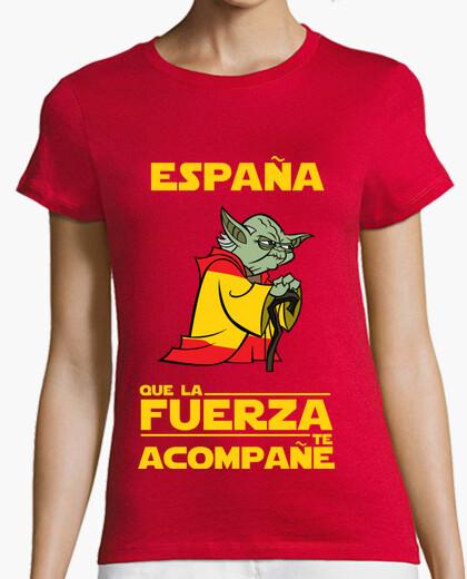 Camiseta España, Que La Fuerza Te Acompañe