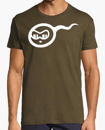 Camiseta Espermatozoide - Fiestas humor geek Freak cine TV musica