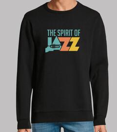 camiseta espíritu vintage jazz