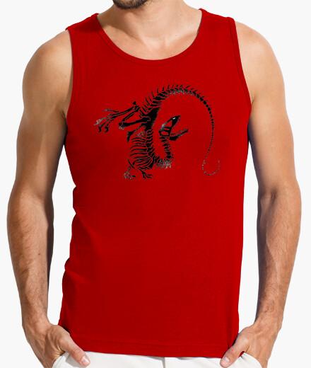 Camiseta Esqueleto Dinosaurio Hombre sin...
