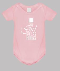 camiseta esta chica ama los libros
