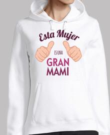 Camiseta Esta Mujer Es Una Gran Mami