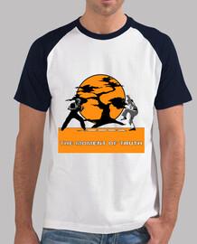 Camiseta estilo beisbol chico The Moment of Truth - Karate Kid