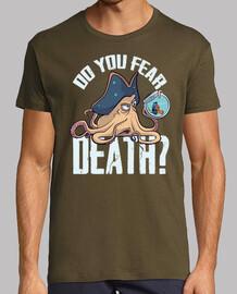 Camiseta estilo retro Do you fear death?