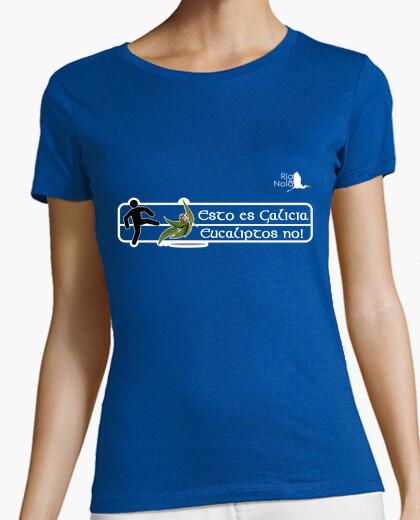 Camiseta Esto es Galicia - Eucaliptos no