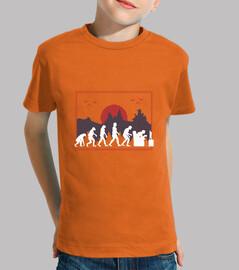 Camiseta Evolución del juego