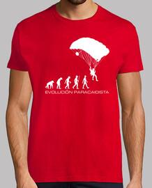 Camiseta Evolución Paracaidista mod.2
