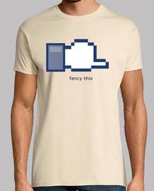 Camiseta Facebook camisetas friki