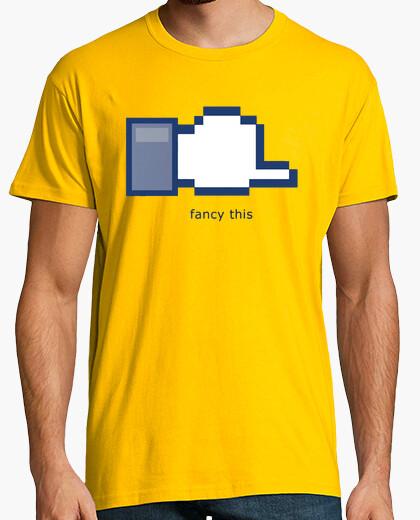 Camiseta Facebook humor internet TV Fiesta Despedida humor
