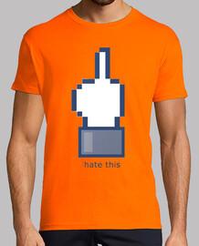 Camiseta Facebook internet camisetas friki