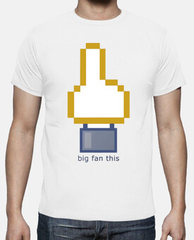 Camiseta Facebook internet camisetas friki