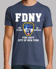 Camiseta FDNY 150 Years mod.1