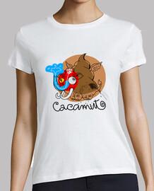 Camiseta Femenina Cacamut