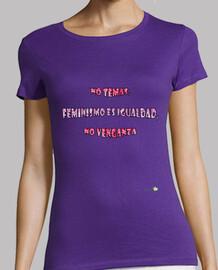 Camiseta Feminismo es igualdad