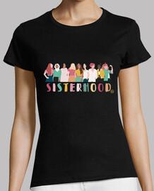 Camiseta Feminista Sisterhood
