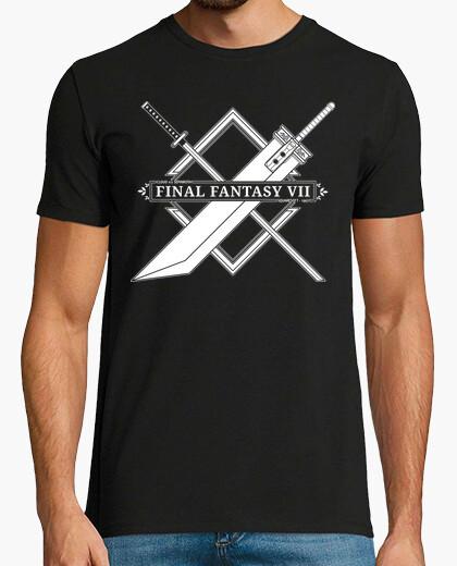Camiseta FINAL FANTASY VII - Cloud v.s Sephiroth
