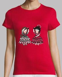 camiseta flamencas und olé
