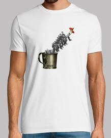 Camiseta Flower War hombre