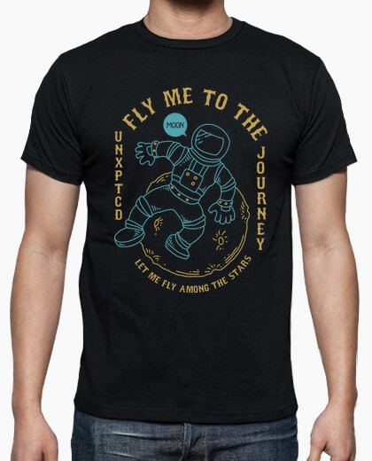 Camiseta Fly Me To The Moon - ARTMISETAS ART CAMISETAS