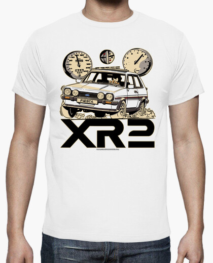 Camiseta FORD FIESTA XR2 MK1 BLANCO
