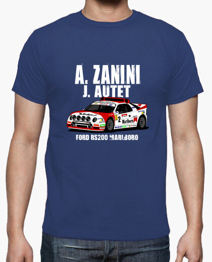 Camiseta FORD RS200 ZANINI AUTET