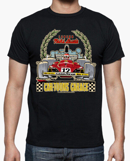 Camiseta FORMULA 1 CARTOONS GARAGE