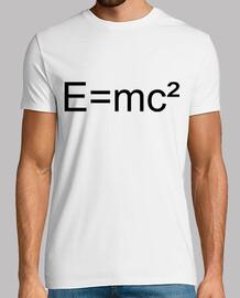 Camiseta formula Einstein