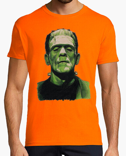 Camiseta Frankenstein retro