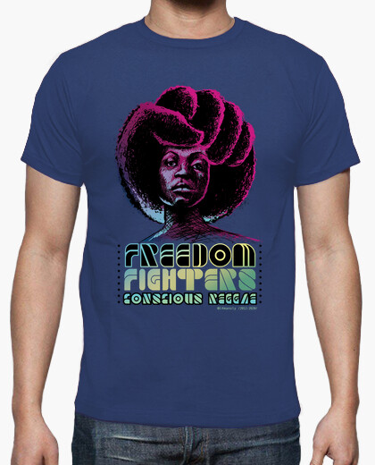 Camiseta Freedom Fighters, Conscious...