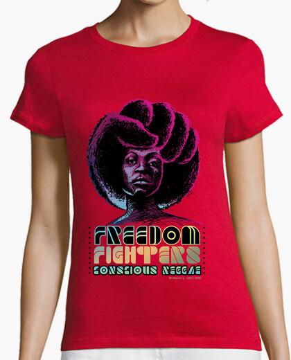 Camiseta Freedom Fighters, Conscious Reggae 2012