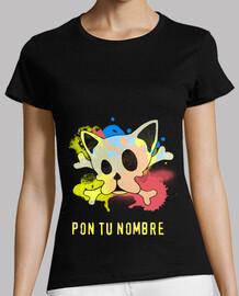 Camiseta Frenchie Skull
