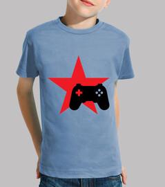 camiseta friki - juegos - jugador