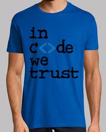 camiseta friki: en el código confiamos