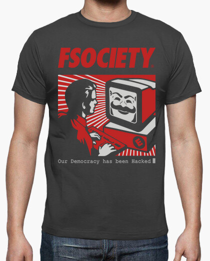 Camiseta fsociety - Mr. ROBOT