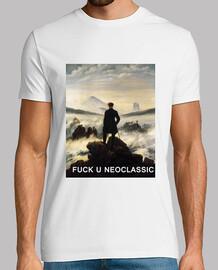 Camiseta Fuck u neoclassic hombre