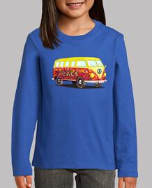Camiseta Furgoneta hippie M/L