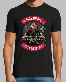 Camiseta Garage Bikers LifeStyle Retro