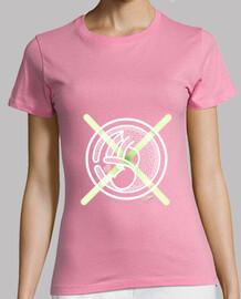 Camiseta Gato CruzVerde Mujer