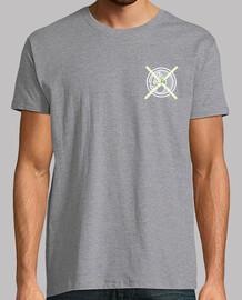 Camiseta Gato Pecho Hombre