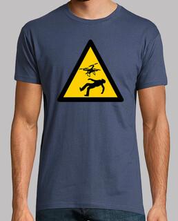 camiseta gefahr drohnen