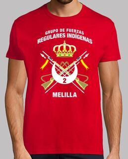 Camiseta GFRI 2 Melilla mod.1
