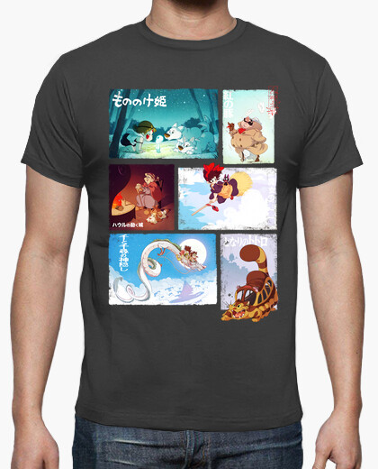 Camiseta Ghibli Tribute