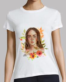 Camiseta Girl Flowers