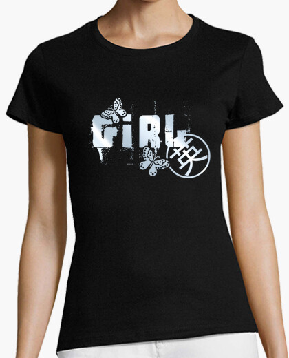 Camiseta Girl (metalizado)