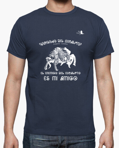 Camiseta GORGOJO DEL EUCALIPTO BLANCO