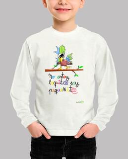 Camiseta graciosa Pájaro loquito